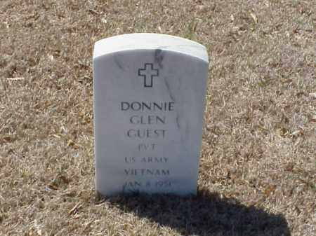 GUEST (VETERAN VIET), DONNIE GLEN - Pulaski County, Arkansas | DONNIE GLEN GUEST (VETERAN VIET) - Arkansas Gravestone Photos