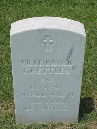 GUETTLER (VETERAN WWII), FREDERICK - Pulaski County, Arkansas | FREDERICK GUETTLER (VETERAN WWII) - Arkansas Gravestone Photos
