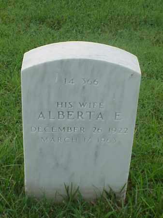 GUINN, ALBERTA E - Pulaski County, Arkansas | ALBERTA E GUINN - Arkansas Gravestone Photos