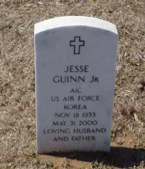 GUINN, JR (VETERAN KOR), JESSE - Pulaski County, Arkansas | JESSE GUINN, JR (VETERAN KOR) - Arkansas Gravestone Photos