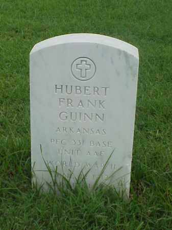 GUINN (VETERAN WWII), HUBERT FRANK - Pulaski County, Arkansas | HUBERT FRANK GUINN (VETERAN WWII) - Arkansas Gravestone Photos