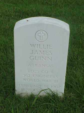 GUINN (VETERAN WWII), WILLIE JAMES - Pulaski County, Arkansas | WILLIE JAMES GUINN (VETERAN WWII) - Arkansas Gravestone Photos