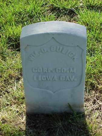 GULICK (VETERAN UNION), WILLIAM O - Pulaski County, Arkansas | WILLIAM O GULICK (VETERAN UNION) - Arkansas Gravestone Photos