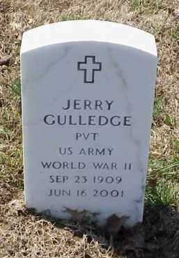 GULLEDGE  (VETERAN WWII), JERRY - Pulaski County, Arkansas | JERRY GULLEDGE  (VETERAN WWII) - Arkansas Gravestone Photos