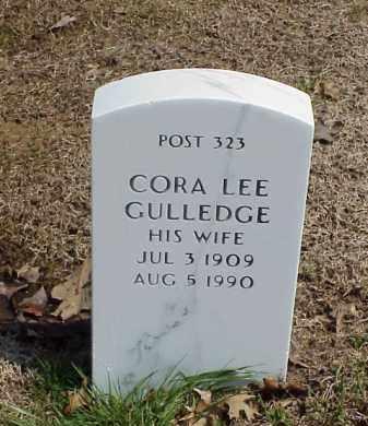 GULLEDGE, CORA LEE - Pulaski County, Arkansas | CORA LEE GULLEDGE - Arkansas Gravestone Photos