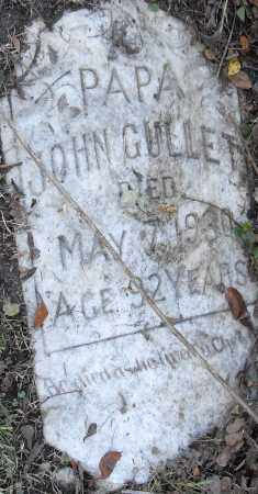 GULLET, JOHN - Pulaski County, Arkansas | JOHN GULLET - Arkansas Gravestone Photos