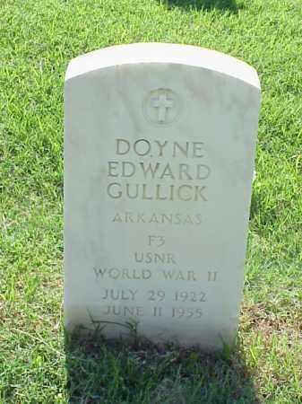 GULLICK (VETERAN WWII), DOYNE EDWARD - Pulaski County, Arkansas | DOYNE EDWARD GULLICK (VETERAN WWII) - Arkansas Gravestone Photos