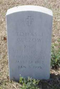 GULZOW (VETERAN PGW), TOBIAS J - Pulaski County, Arkansas | TOBIAS J GULZOW (VETERAN PGW) - Arkansas Gravestone Photos