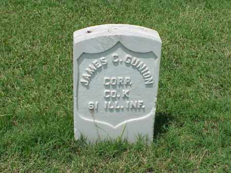 GUNION (VETERAN UNION), JAMES C - Pulaski County, Arkansas | JAMES C GUNION (VETERAN UNION) - Arkansas Gravestone Photos