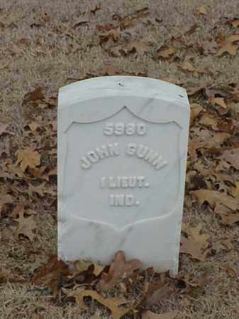 GUNN (VETERAN UNION), JOHN - Pulaski County, Arkansas | JOHN GUNN (VETERAN UNION) - Arkansas Gravestone Photos