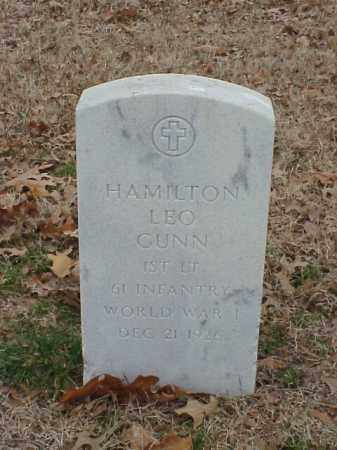 GUNN (VETERAN 2 WARS), HAMILTON LEO - Pulaski County, Arkansas | HAMILTON LEO GUNN (VETERAN 2 WARS) - Arkansas Gravestone Photos