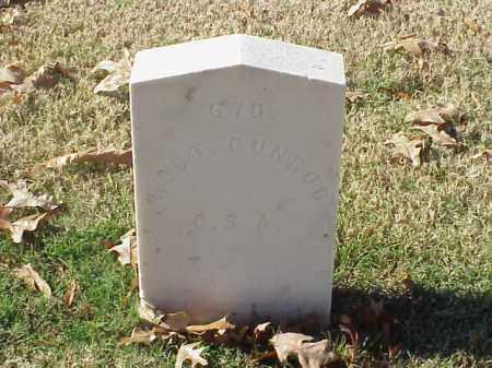 GUNROD  (VETERAN CSA), ROBERT - Pulaski County, Arkansas | ROBERT GUNROD  (VETERAN CSA) - Arkansas Gravestone Photos