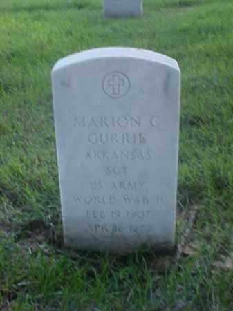 GURRIE (VETERAN WWII), MARION C - Pulaski County, Arkansas | MARION C GURRIE (VETERAN WWII) - Arkansas Gravestone Photos