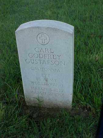 GUSTAFSON (VETERAN WWI), CARL GODFREY - Pulaski County, Arkansas | CARL GODFREY GUSTAFSON (VETERAN WWI) - Arkansas Gravestone Photos
