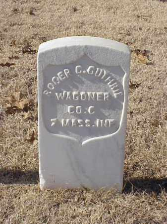GUTHRIE  (VETERAN UNION), ROGER C - Pulaski County, Arkansas | ROGER C GUTHRIE  (VETERAN UNION) - Arkansas Gravestone Photos