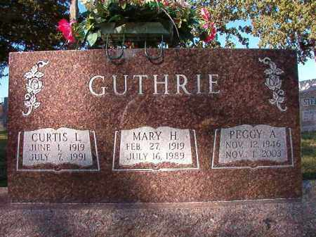 GUTHRIE, PEGGY A - Pulaski County, Arkansas | PEGGY A GUTHRIE - Arkansas Gravestone Photos