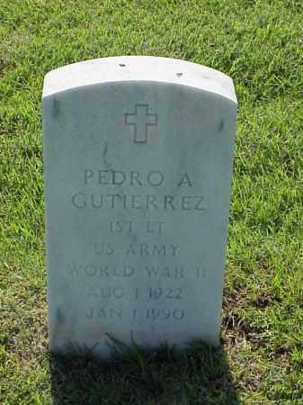 GUTIERREZ (VETERAN WWII), PEDRO A - Pulaski County, Arkansas | PEDRO A GUTIERREZ (VETERAN WWII) - Arkansas Gravestone Photos