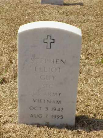 GUY (VETERAN VIET), STEPHEN ELLIOT - Pulaski County, Arkansas | STEPHEN ELLIOT GUY (VETERAN VIET) - Arkansas Gravestone Photos