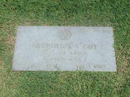 GUY (VETERAN WWII), FREDERICK T - Pulaski County, Arkansas | FREDERICK T GUY (VETERAN WWII) - Arkansas Gravestone Photos