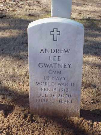 GWATNEY  (VETERAN WWII), ANDREW LEE - Pulaski County, Arkansas | ANDREW LEE GWATNEY  (VETERAN WWII) - Arkansas Gravestone Photos
