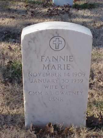 GWATNEY, FANNIE MARIE - Pulaski County, Arkansas | FANNIE MARIE GWATNEY - Arkansas Gravestone Photos