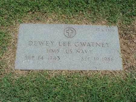 GWATNEY (VETERAN), DEWEY LEE - Pulaski County, Arkansas | DEWEY LEE GWATNEY (VETERAN) - Arkansas Gravestone Photos