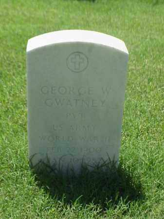 GWATNEY (VETERAN WWII), GEORGE W - Pulaski County, Arkansas | GEORGE W GWATNEY (VETERAN WWII) - Arkansas Gravestone Photos