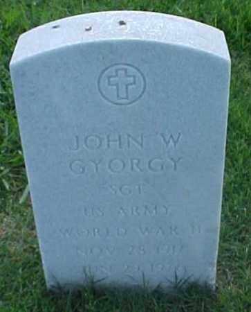 GYORGY (VETERAN WWII), JOHN W - Pulaski County, Arkansas | JOHN W GYORGY (VETERAN WWII) - Arkansas Gravestone Photos