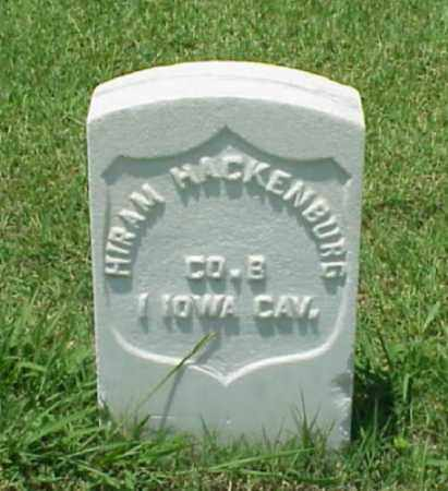HACKENBURG (VETERAN UNION), HIRAM - Pulaski County, Arkansas | HIRAM HACKENBURG (VETERAN UNION) - Arkansas Gravestone Photos