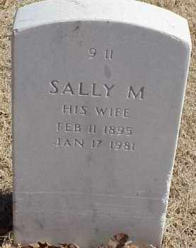 HACKER, SALLY M - Pulaski County, Arkansas | SALLY M HACKER - Arkansas Gravestone Photos
