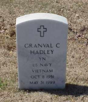 HADLEY (VETERAN VIET), GRANVAL C - Pulaski County, Arkansas | GRANVAL C HADLEY (VETERAN VIET) - Arkansas Gravestone Photos