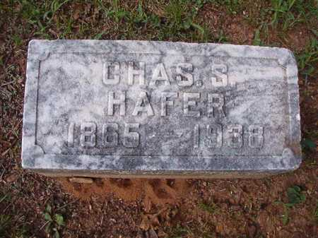 HAFER, CHARLES S - Pulaski County, Arkansas | CHARLES S HAFER - Arkansas Gravestone Photos