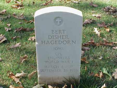 HAGEDORN  (VETERAN WWI), BERT DISHER - Pulaski County, Arkansas | BERT DISHER HAGEDORN  (VETERAN WWI) - Arkansas Gravestone Photos