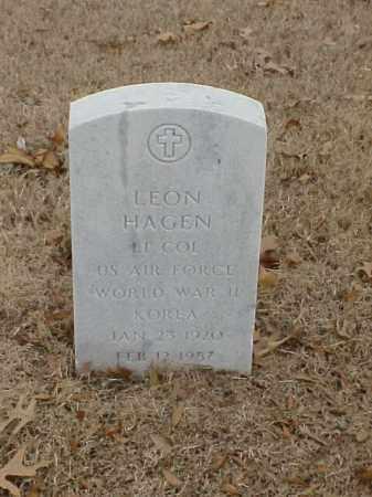HAGEN (VETERAN 2 WARS), LEON - Pulaski County, Arkansas | LEON HAGEN (VETERAN 2 WARS) - Arkansas Gravestone Photos