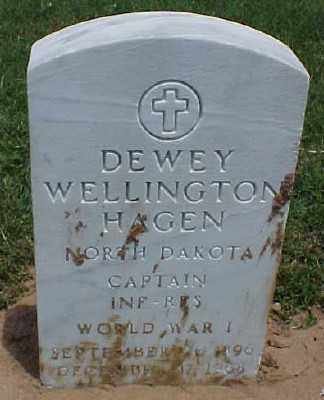 HAGEN (VETERAN WWI), DEWEY WELLINGTON - Pulaski County, Arkansas | DEWEY WELLINGTON HAGEN (VETERAN WWI) - Arkansas Gravestone Photos