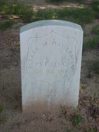 HAGERMAN (VETERAN UNION), PARKER M - Pulaski County, Arkansas | PARKER M HAGERMAN (VETERAN UNION) - Arkansas Gravestone Photos
