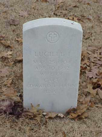 HAHN, LUCILLE I - Pulaski County, Arkansas | LUCILLE I HAHN - Arkansas Gravestone Photos