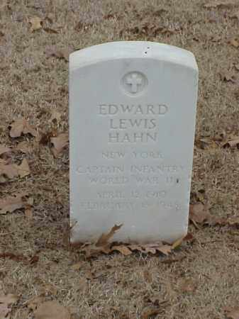 HAHN (VETERAN WWII), EDWARD LEWIS - Pulaski County, Arkansas | EDWARD LEWIS HAHN (VETERAN WWII) - Arkansas Gravestone Photos