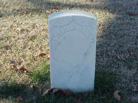 HAINKER  (VETERAN UNION), FREDERICK - Pulaski County, Arkansas | FREDERICK HAINKER  (VETERAN UNION) - Arkansas Gravestone Photos