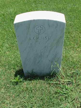 HAIR, LOUISE - Pulaski County, Arkansas | LOUISE HAIR - Arkansas Gravestone Photos