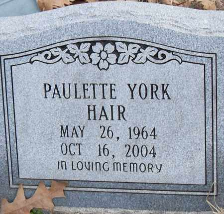 HAIR, PAULETTE - Pulaski County, Arkansas | PAULETTE HAIR - Arkansas Gravestone Photos