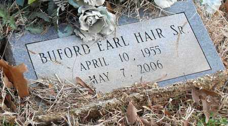 HAIR SR, BUFORD EARL - Pulaski County, Arkansas | BUFORD EARL HAIR SR - Arkansas Gravestone Photos