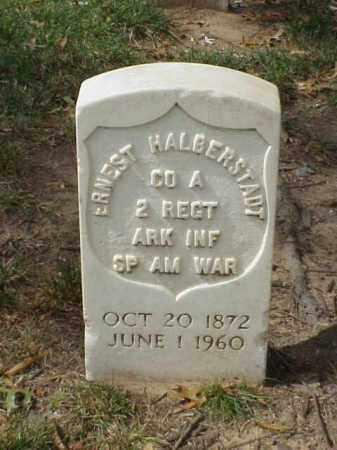 HALBERSTADT  (VETERAN SAW), ERNEST - Pulaski County, Arkansas | ERNEST HALBERSTADT  (VETERAN SAW) - Arkansas Gravestone Photos