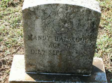 HALBROOKS, MANDY - Pulaski County, Arkansas | MANDY HALBROOKS - Arkansas Gravestone Photos