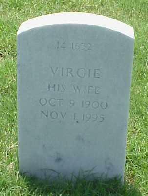 HALBROOKS, VIRGIE - Pulaski County, Arkansas | VIRGIE HALBROOKS - Arkansas Gravestone Photos