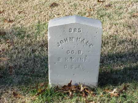 HALE  (VETERAN CSA), JOHN - Pulaski County, Arkansas | JOHN HALE  (VETERAN CSA) - Arkansas Gravestone Photos