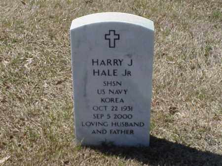 HALE, JR  (VETERAN KOR), HARRY J - Pulaski County, Arkansas | HARRY J HALE, JR  (VETERAN KOR) - Arkansas Gravestone Photos