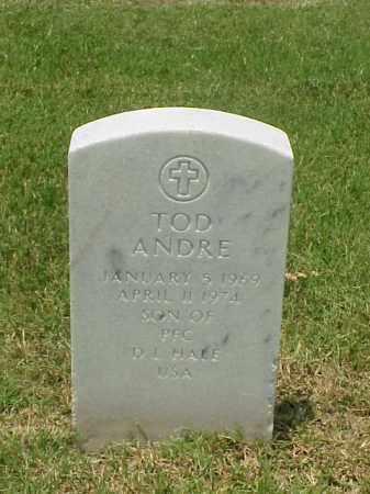 HALE, TOD ANDRE - Pulaski County, Arkansas | TOD ANDRE HALE - Arkansas Gravestone Photos