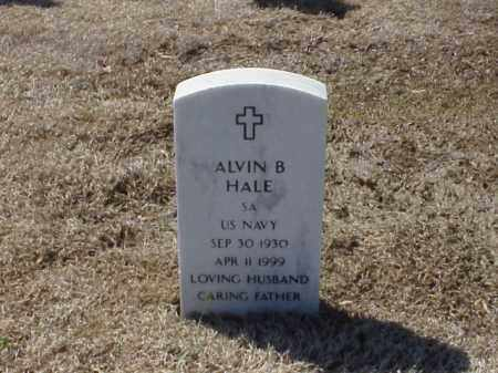 HALE (VETERAN), ALVIN B - Pulaski County, Arkansas | ALVIN B HALE (VETERAN) - Arkansas Gravestone Photos