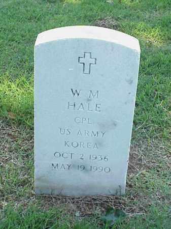 HALE (VETERAN KOR), W M - Pulaski County, Arkansas | W M HALE (VETERAN KOR) - Arkansas Gravestone Photos